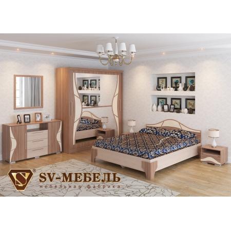 Набор мебели для спальни Лагуна - 5 (шимо)