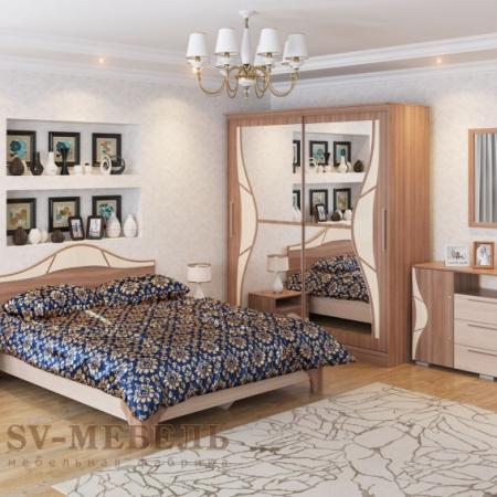 Спальня ЛАГУНА 5 венге св мебель