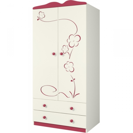 Сакура Шкаф для одежды Ш90-2Д0
