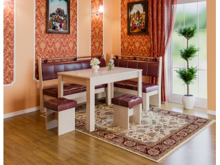 Кухонный уголок Остин (Белфорт/Бордо)