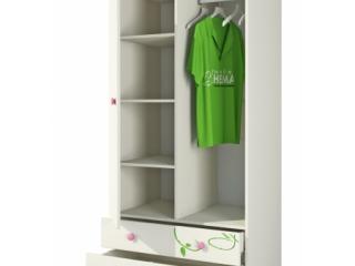 Розалия Шкаф для одежды Ш90-2Д1