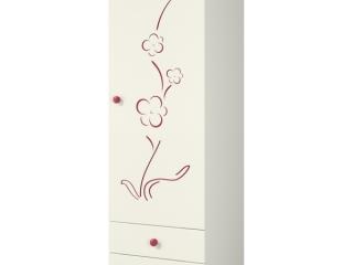 Сакура Шкаф для одежды Ш60-1ЛД0